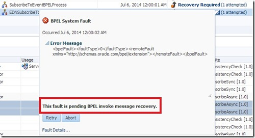 bpel recovery