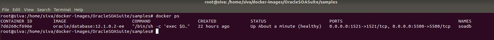 Docker Containers for Oracle SOA Suite | Siva's Blog